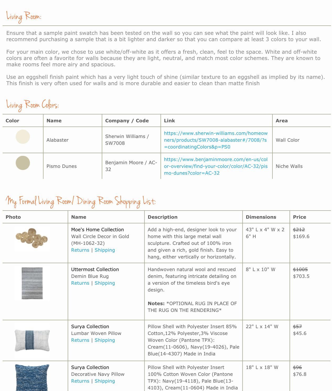 transitional online living room design_shopping_list