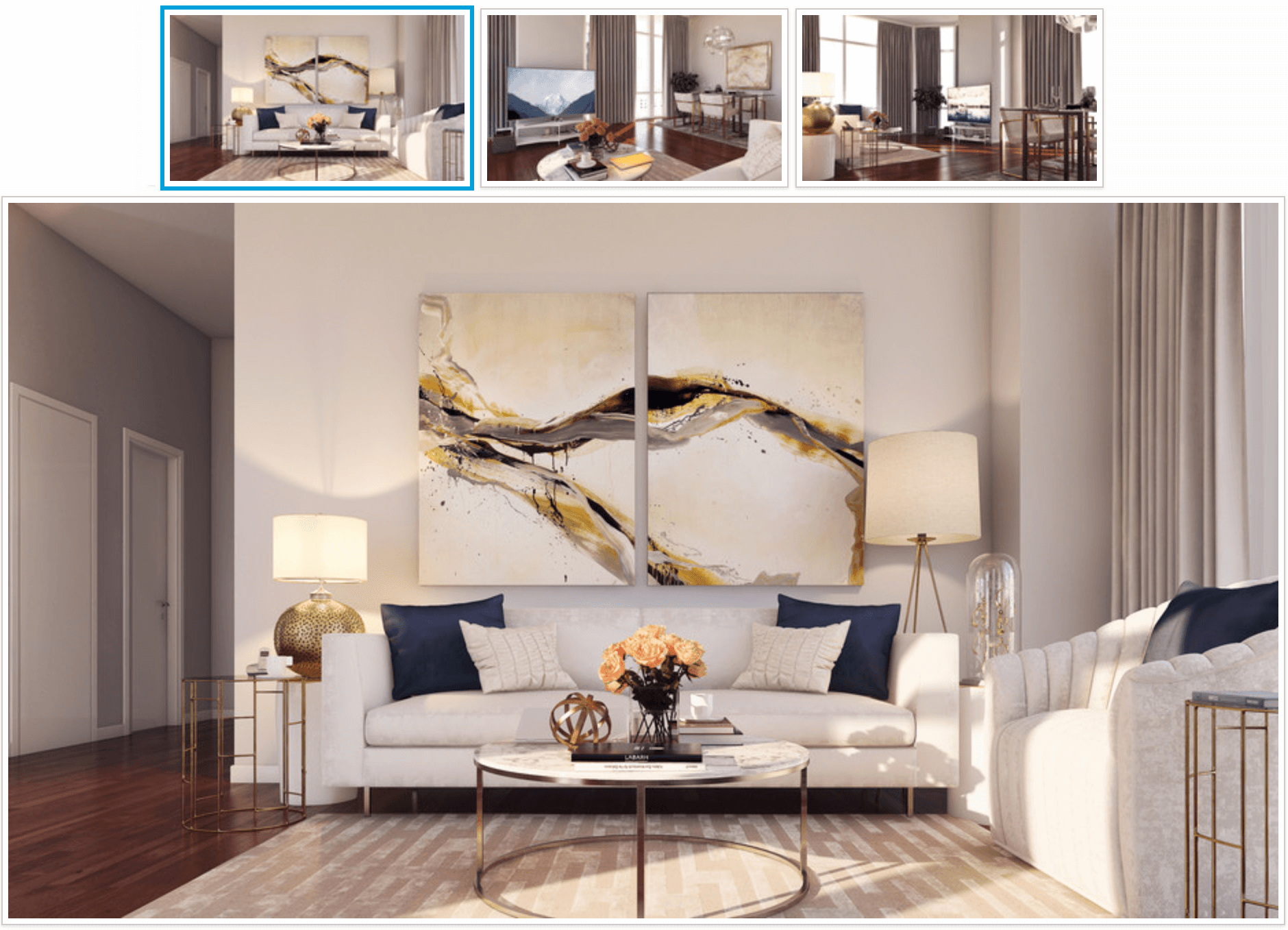 3d renderings decorating app
