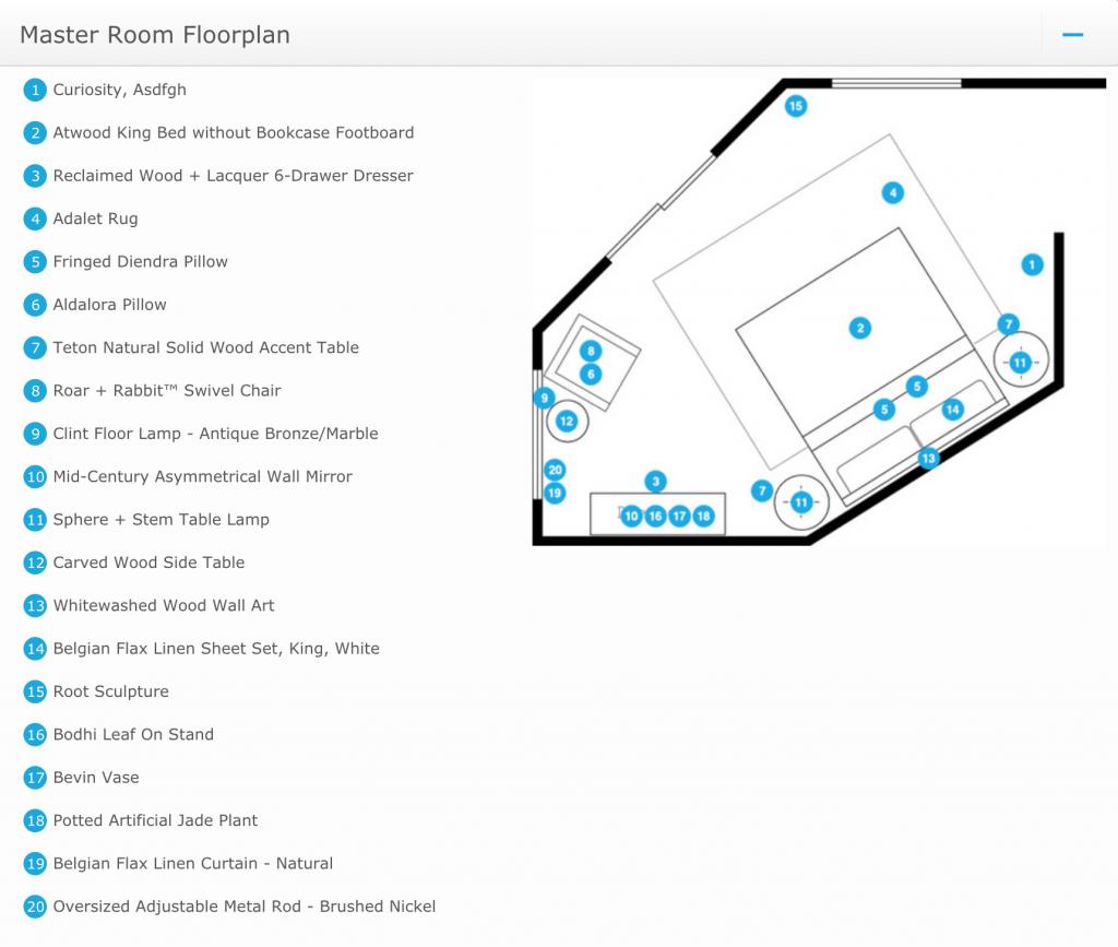 Contemporary Bedroom Design_floorplan