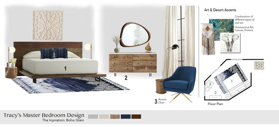 Contemporary Bedroom Design_moodboard