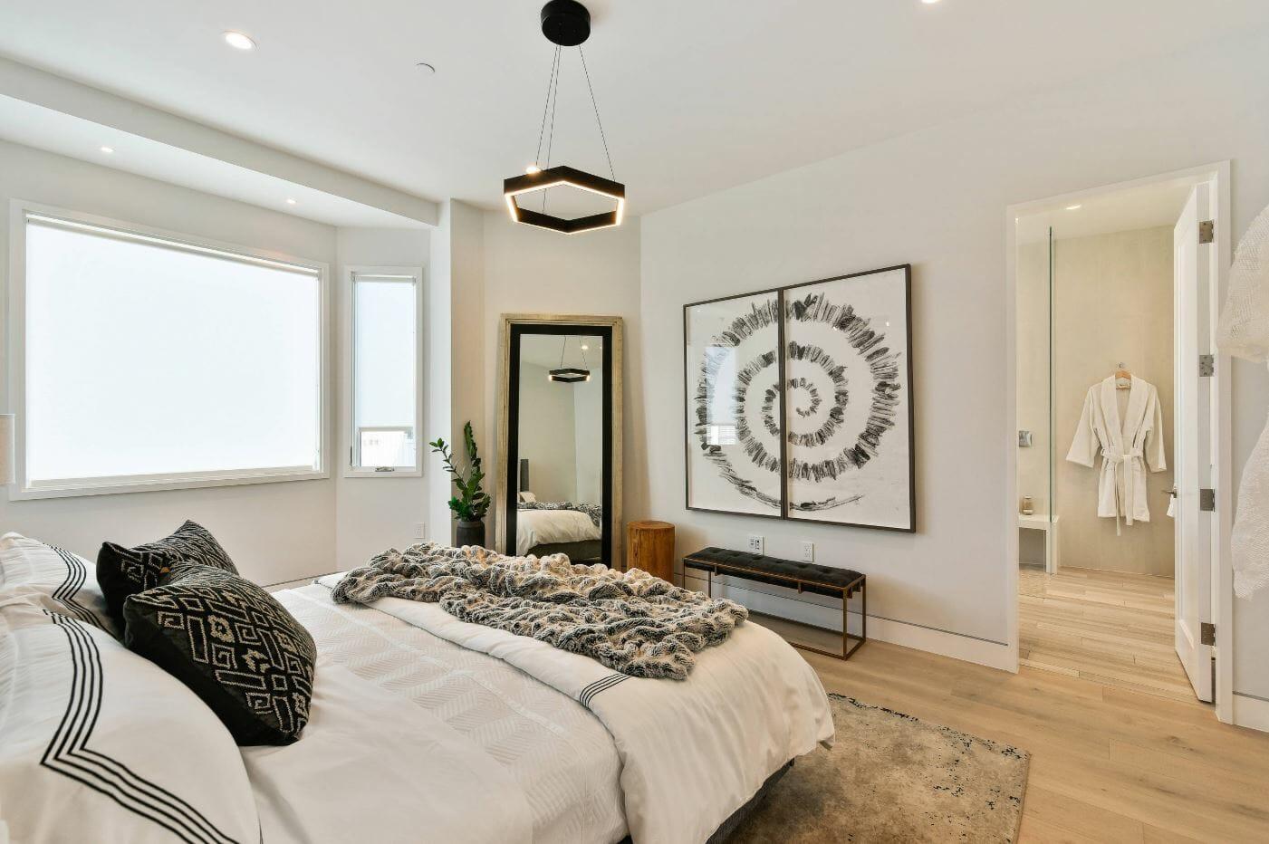 contemporary bedroom design online