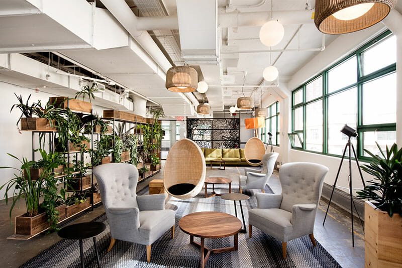 contemporary office design etsy headquarters