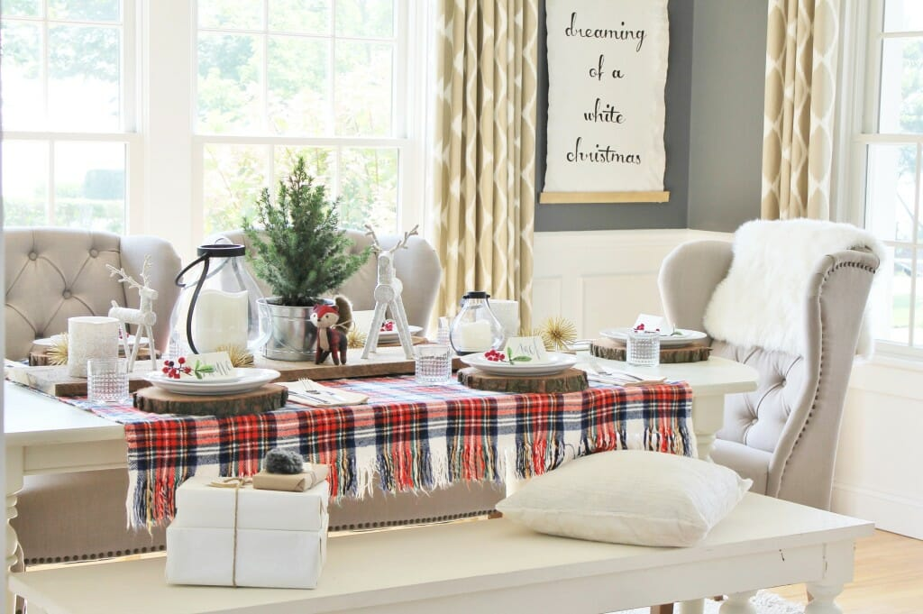 holiday decor trends blanket
