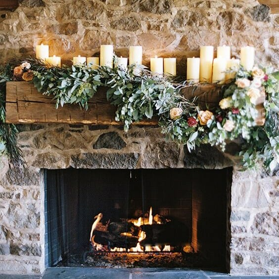 holiday decor trends candles