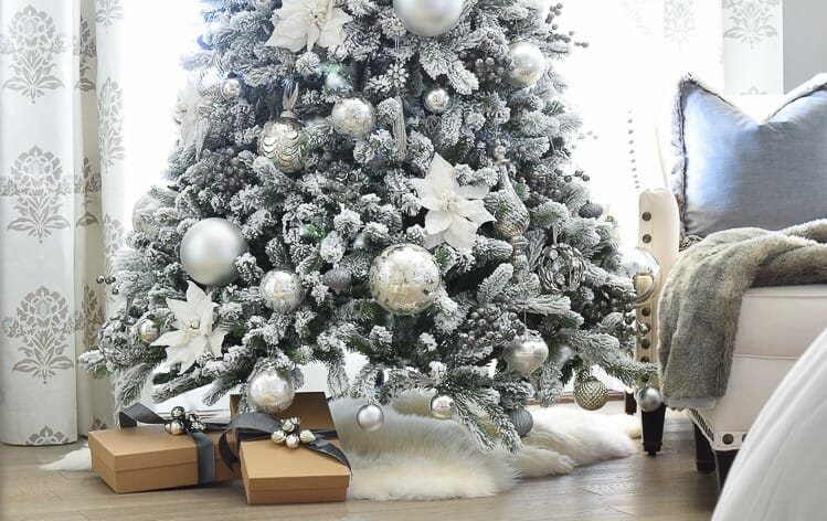 holiday decor trends sheepskin