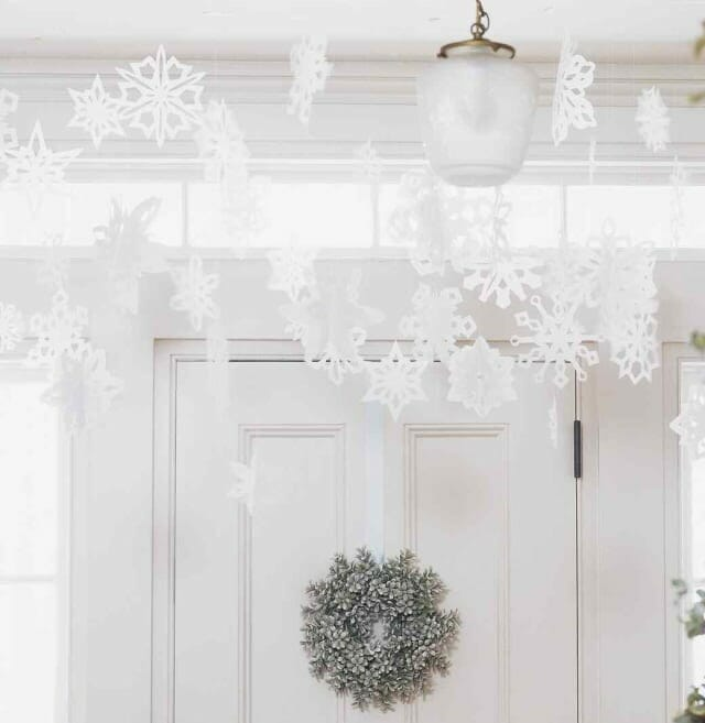 holiday decor trends snowflake 2