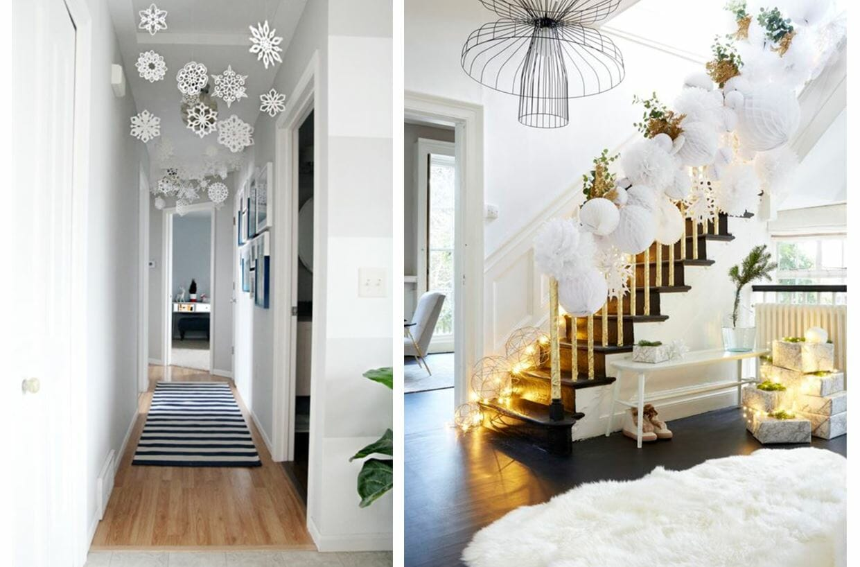holiday decor trends snowflake