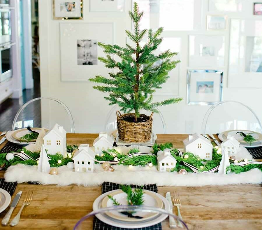 holiday decor trends village 2