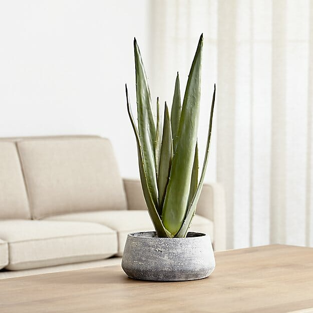home decor gift ideas faux plant