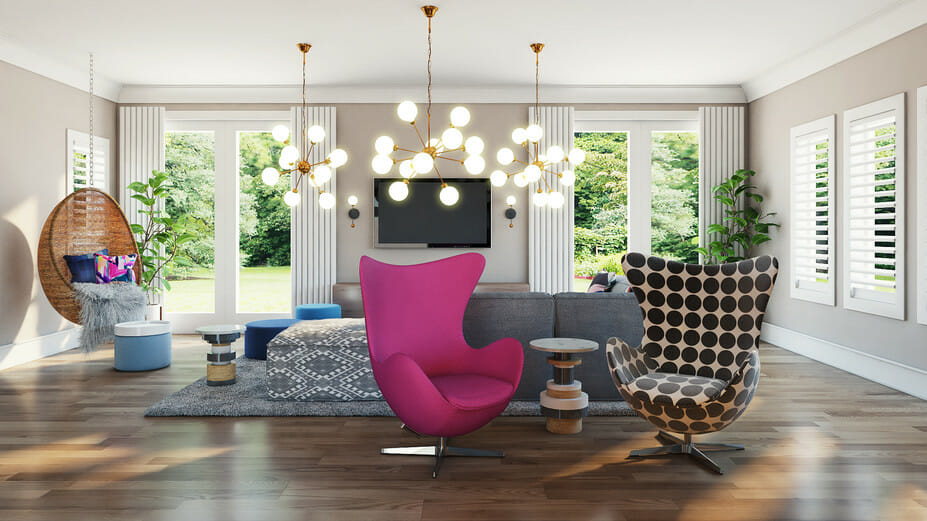 interior design help for a modern living room