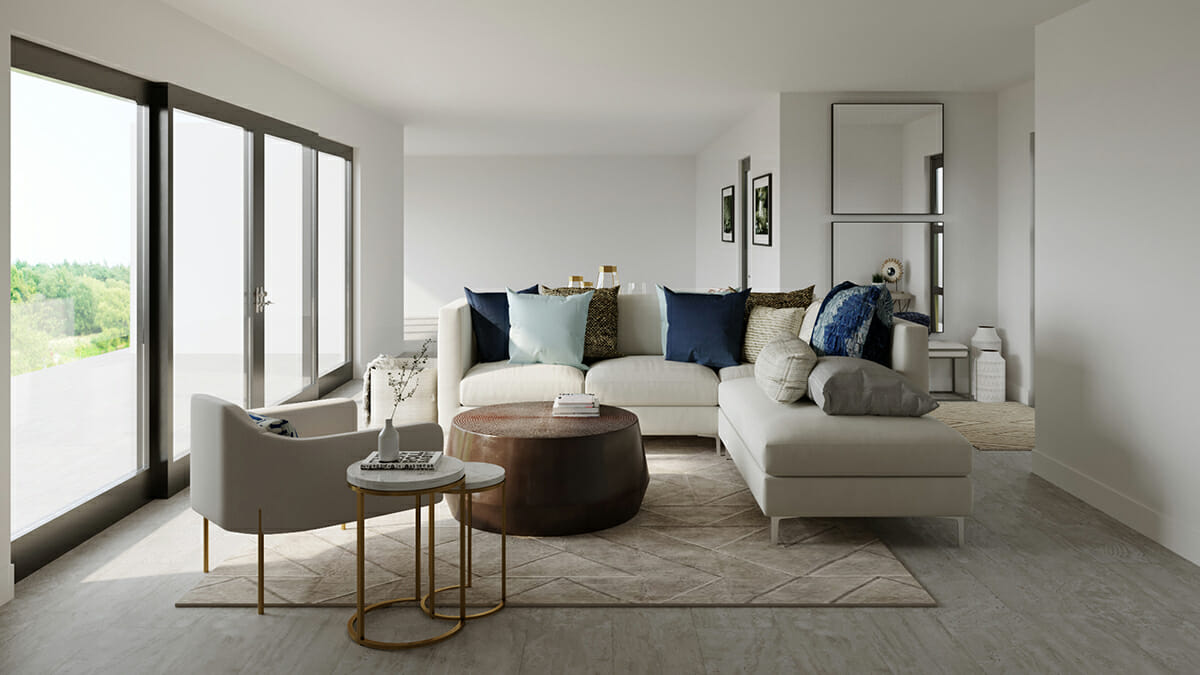 modern living from interior designer spotlight