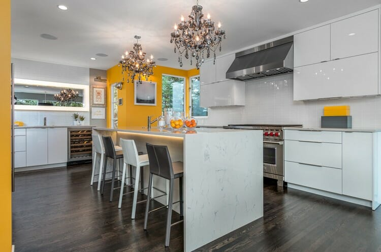 online interior designer spotlight contemporary eclectic kitchen design
