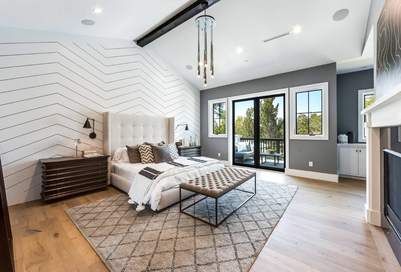 bedroom interior design feature