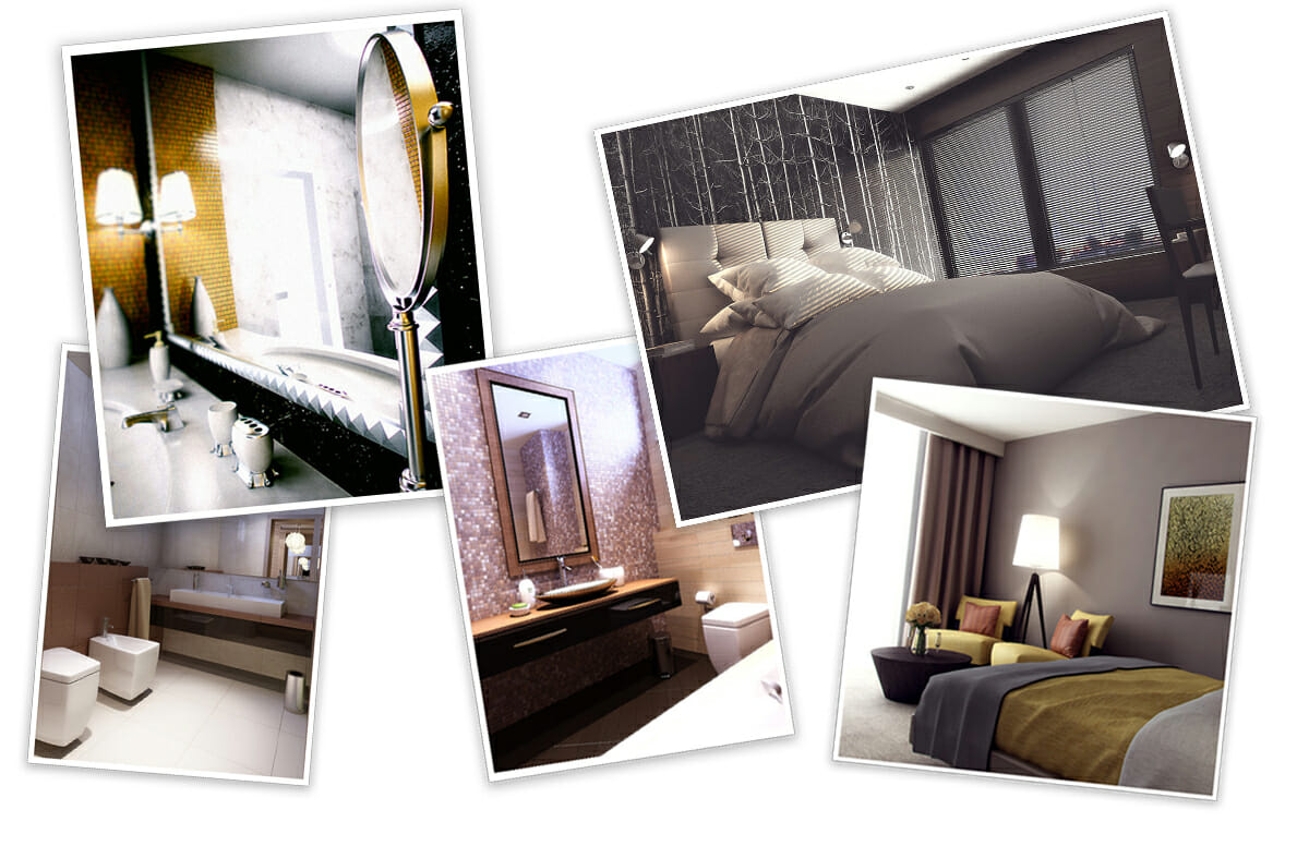 Before after chic boutique hotel interior design for Boutique design hotels