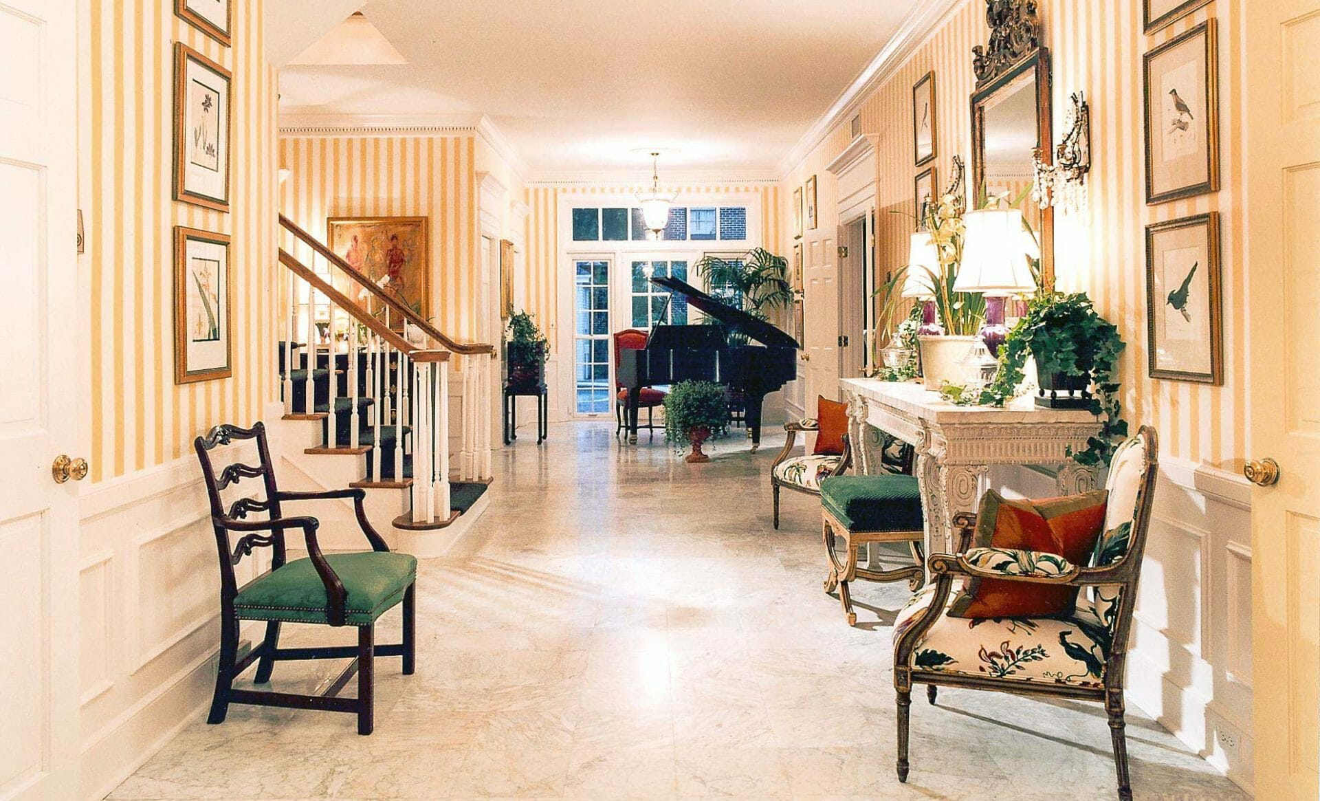 Hire An Interior Designer In Tampa Traditional Foyer