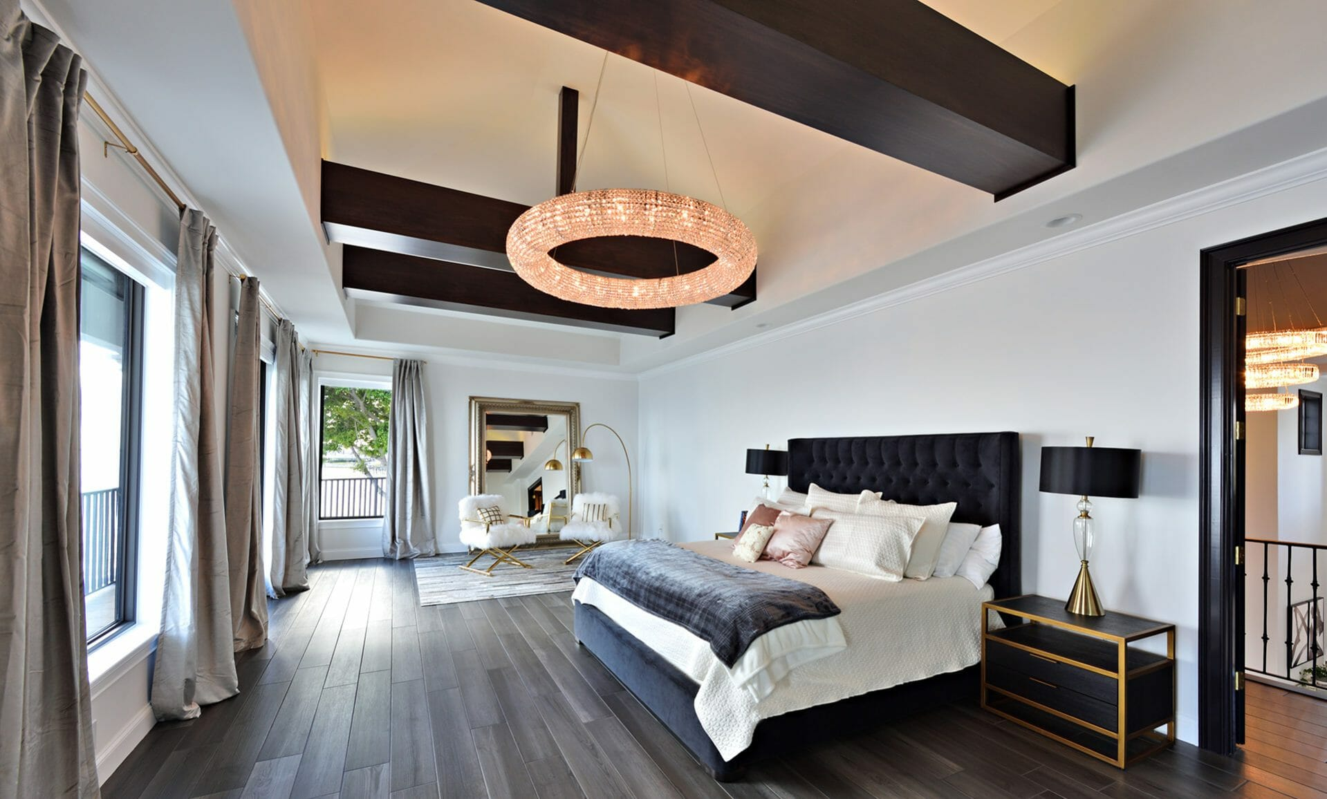 interior designers in tampa - andy d of dsa - luxurious bedroom