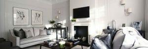luxurious interior design feature