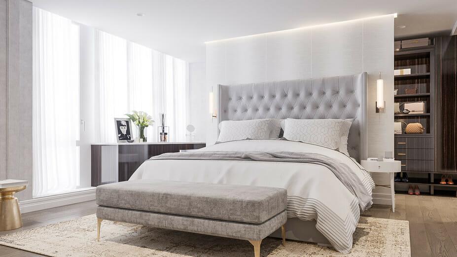 luxury apartment design online bedroom 2