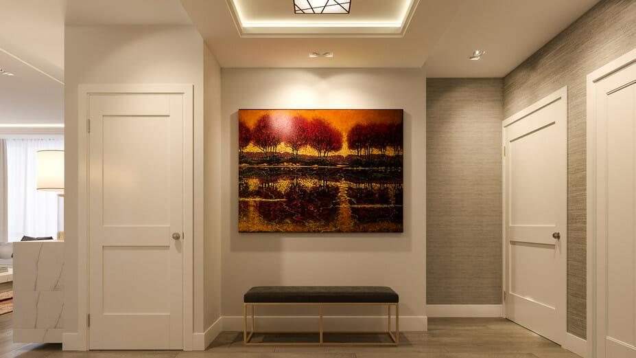 luxury apartment design online hallway 2