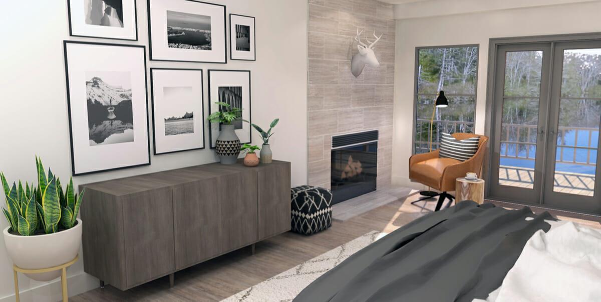 online interior designer spotlight eclectic design