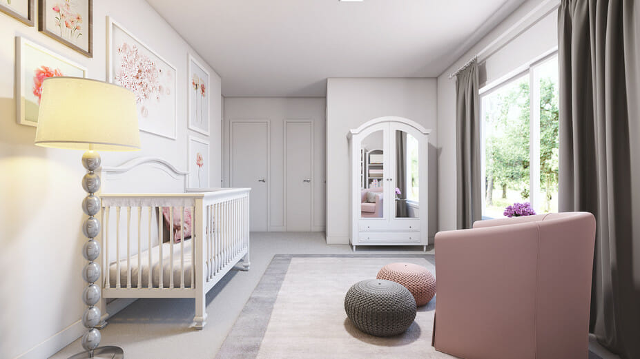 contemporary nursery decor ideas