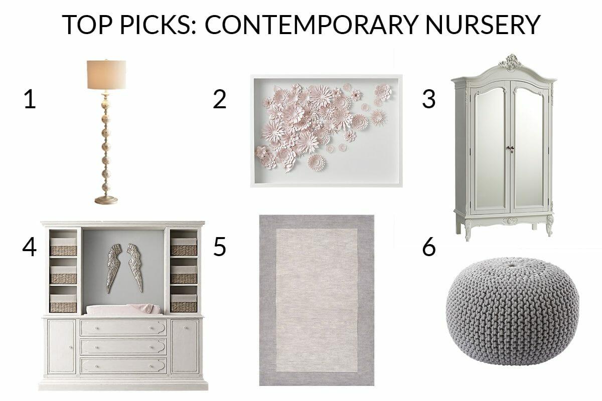 contemporary nursery interior design furniture