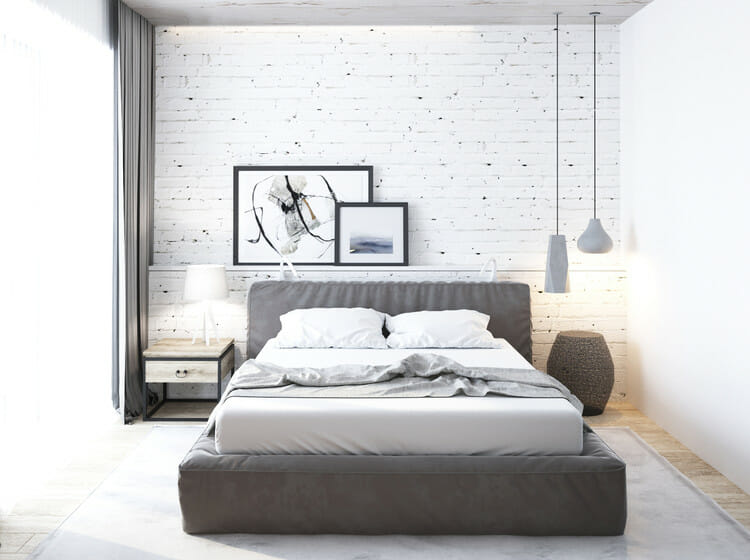 feng shui bedroom decorating ideas with minimalism