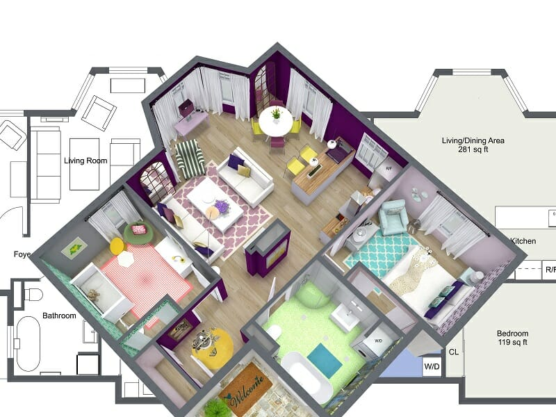 Home interior design software online room sketcher decorilla - Home interior design software ...