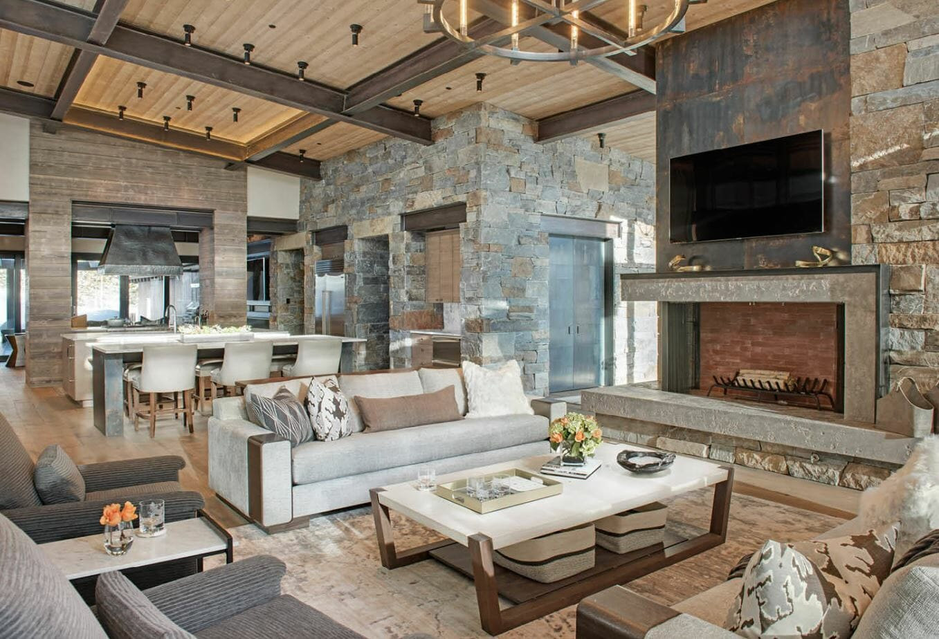 Modern rustic interior design 7 best tips to create your - Modern house interior design ...