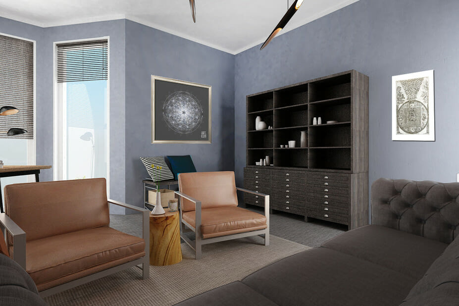 therapist office interior design therapy office model
