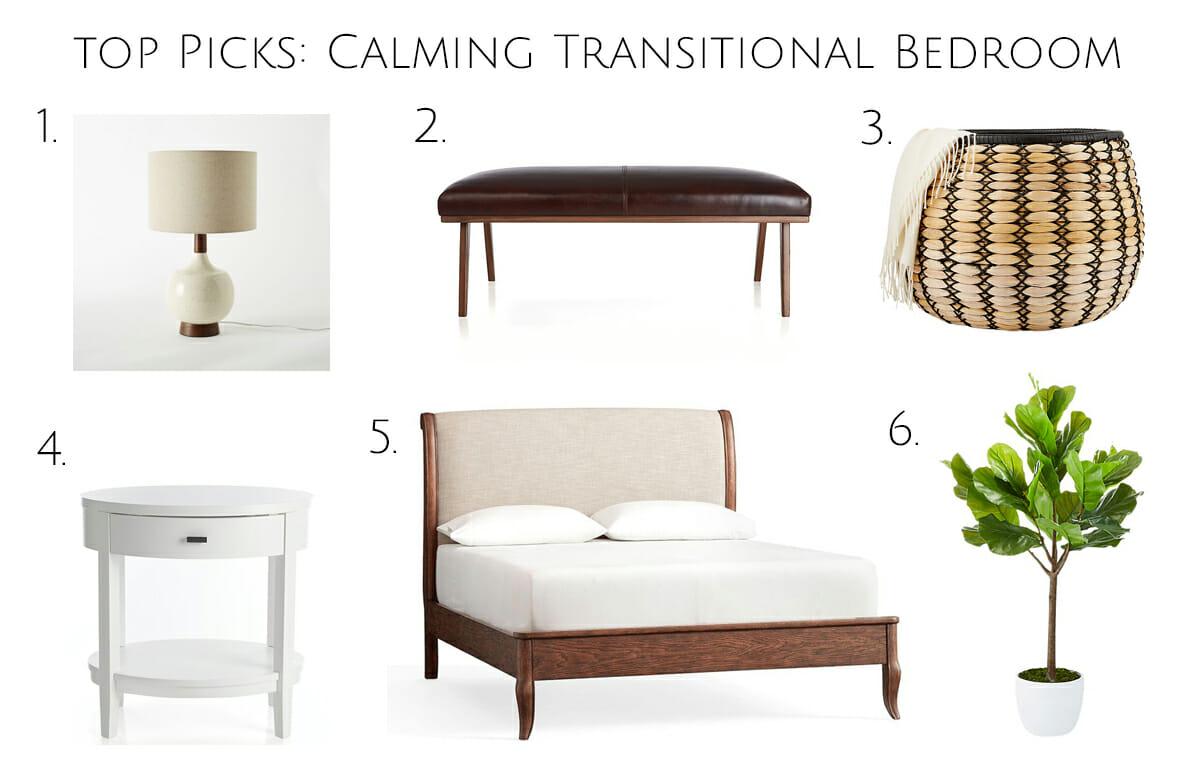 top picks transitional master bedroom interior design online
