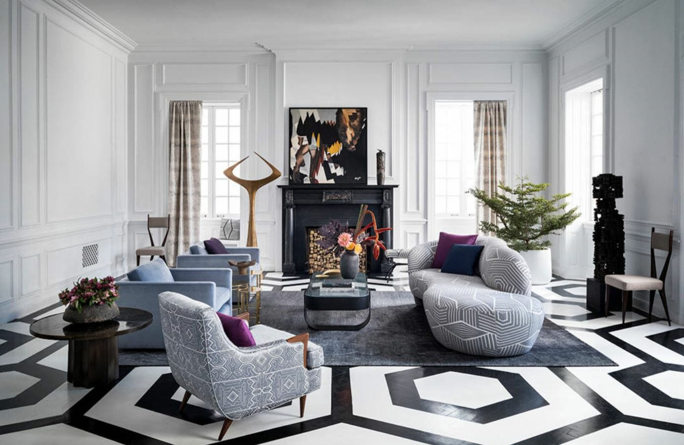 7 best winter 2019 interior design trends to try in your home - Interior design trends 2019 ...