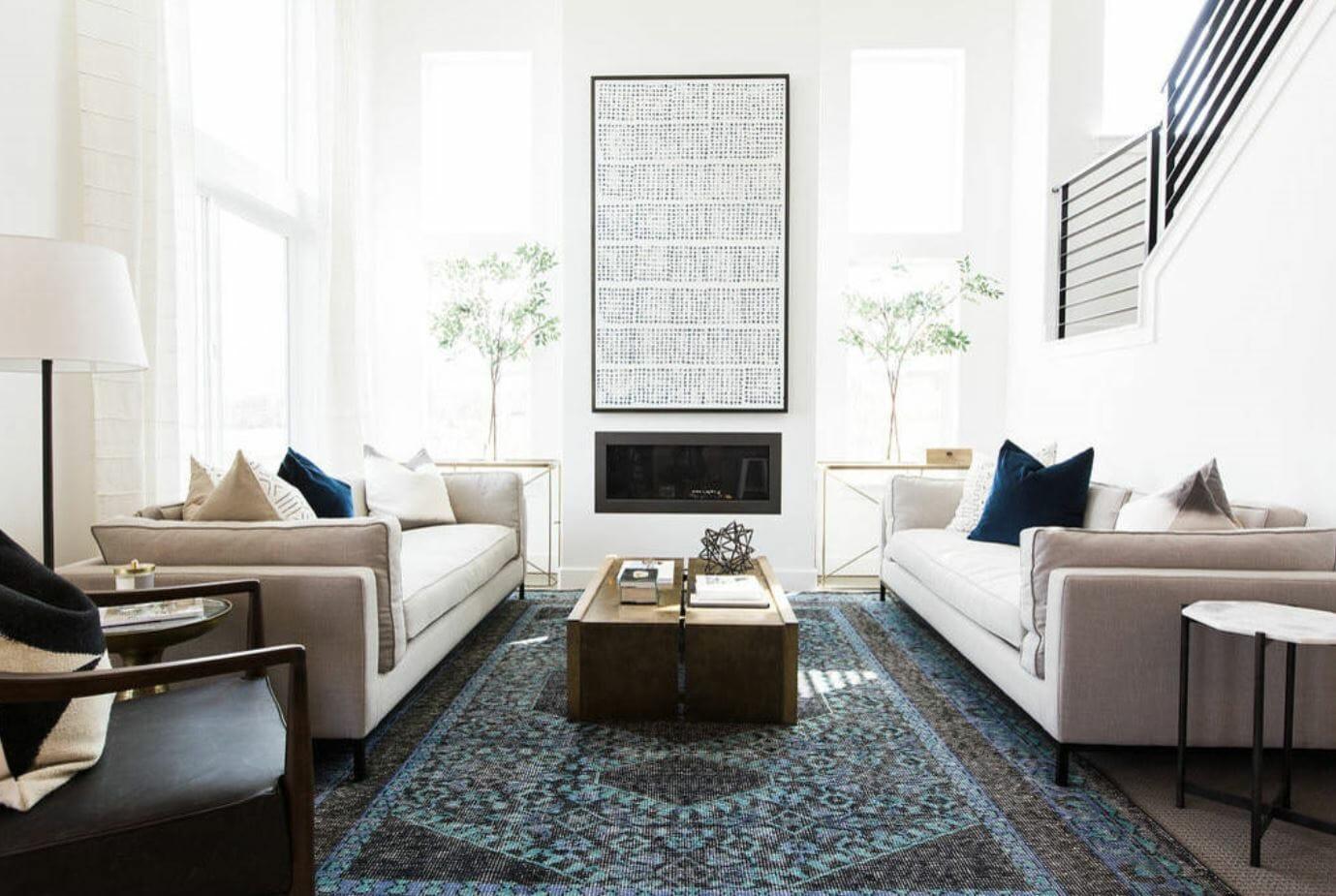winter 2019 interior design trends statement piece