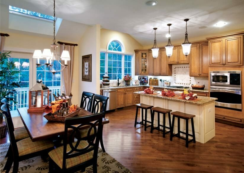 eclectic home interior design - kitchen