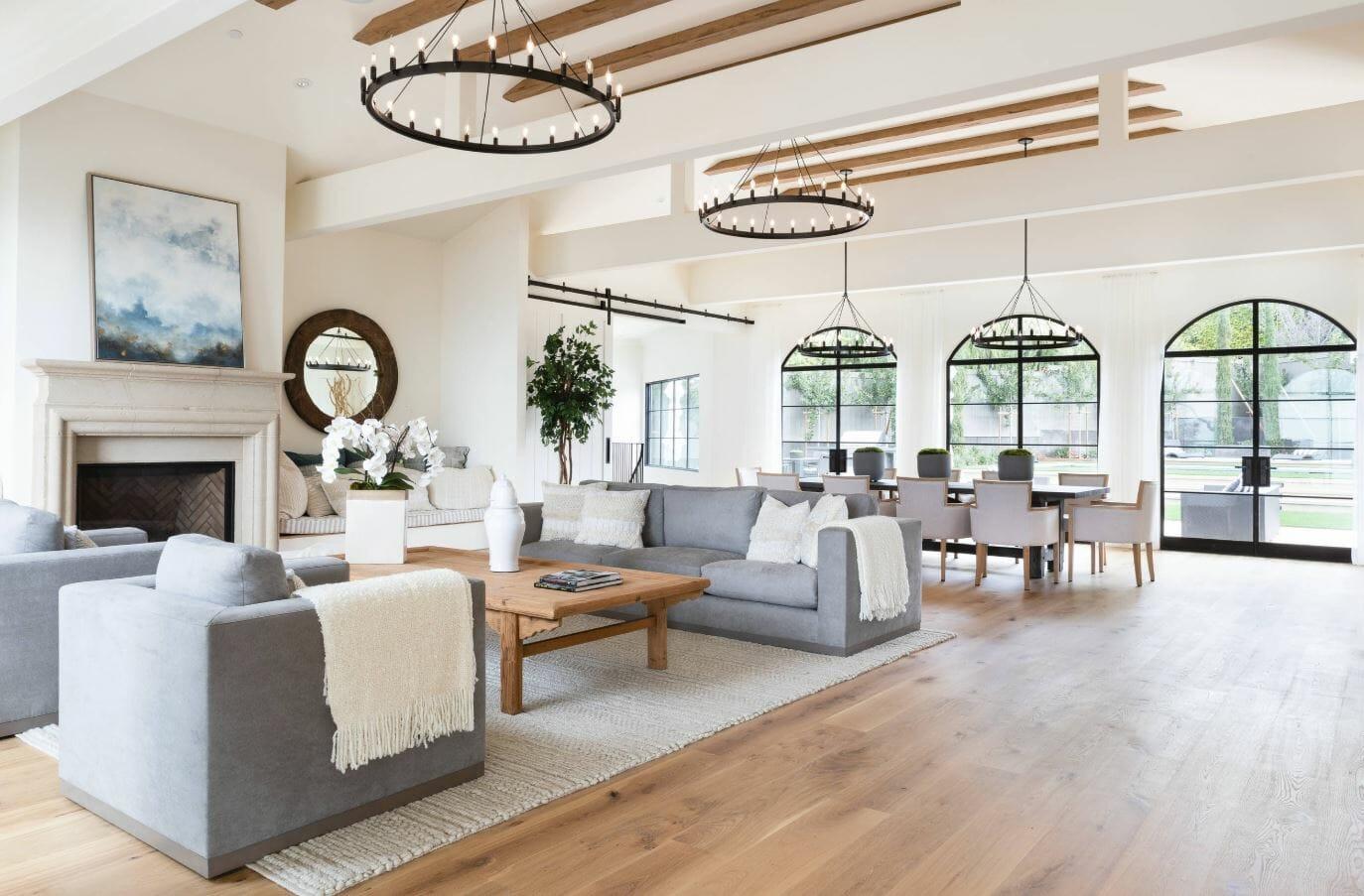 home interior design lighting