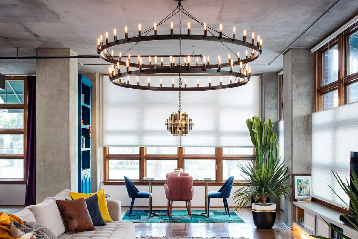 home interiors with LED lights