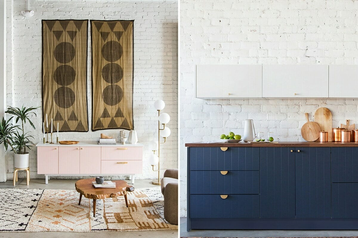home interiors with textures