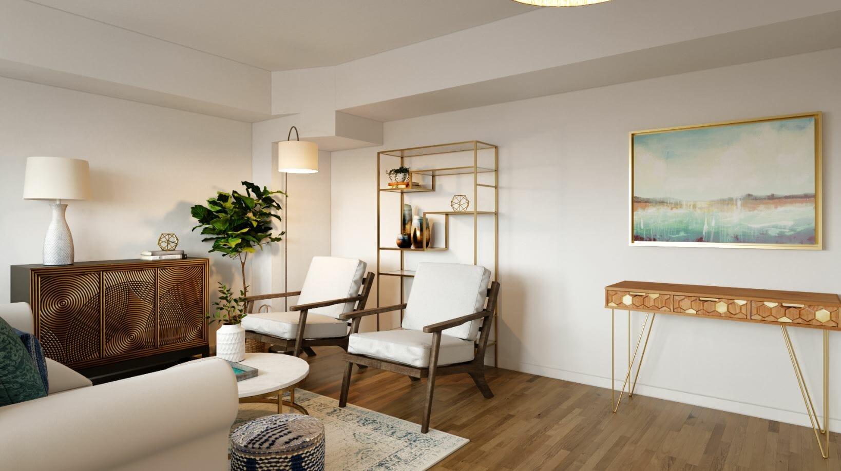 interior designer spotlight sarah m console table