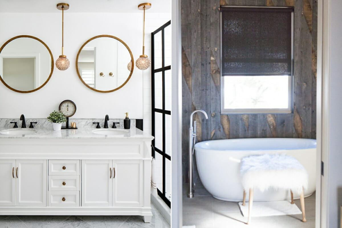 small bathroom renovation on a budget