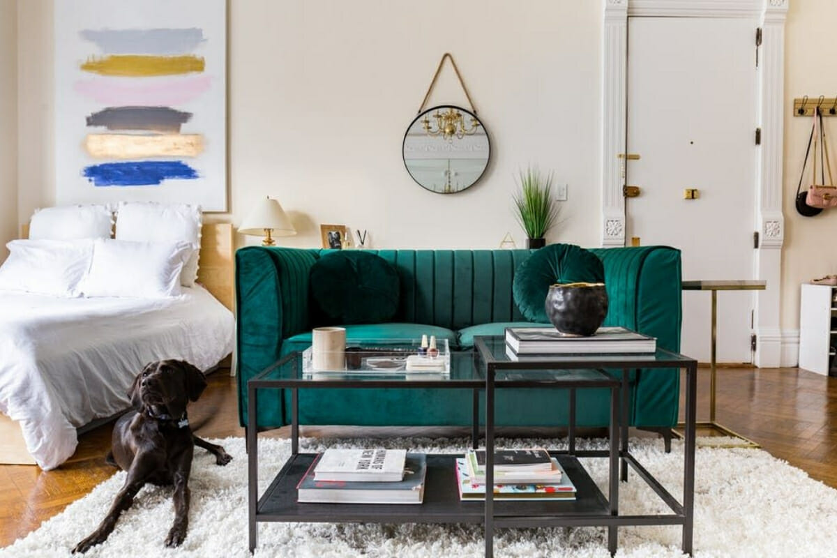 remarkable studio apartment decorating | Small Studio Apartment Design: An Interior Designer's ...