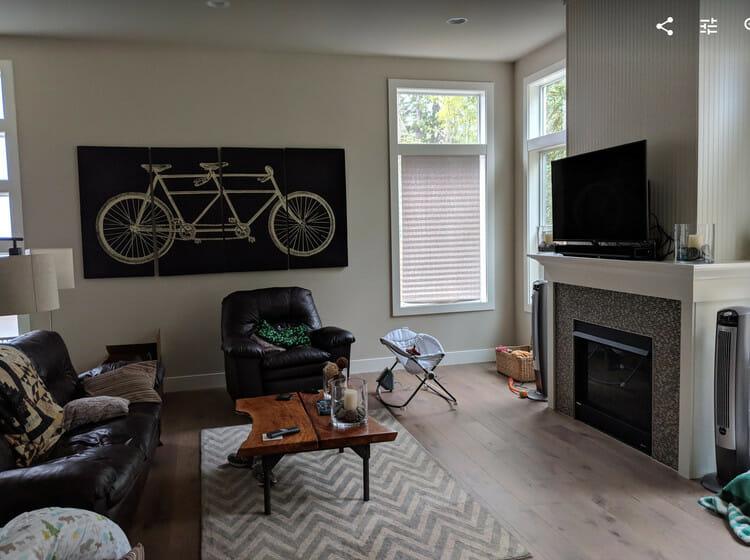 modern house floor plans before