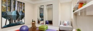 yoga room design