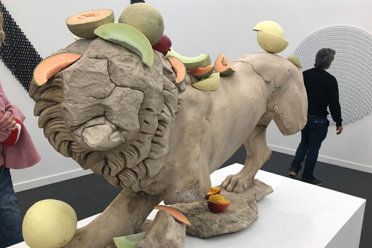 Tony Matelli Frieze Art Fair