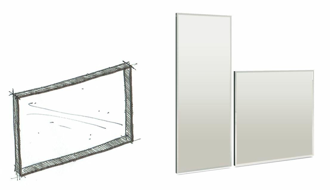 high end glass furniture OONIKO edge