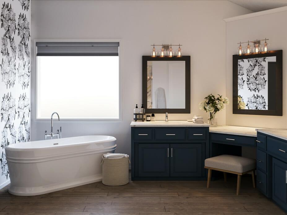 master bath remodel big tub