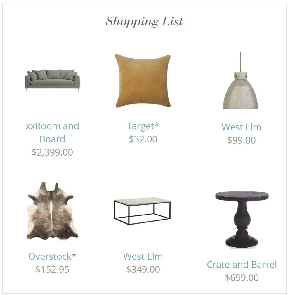 Decorist vs Decorilla furniture shopping