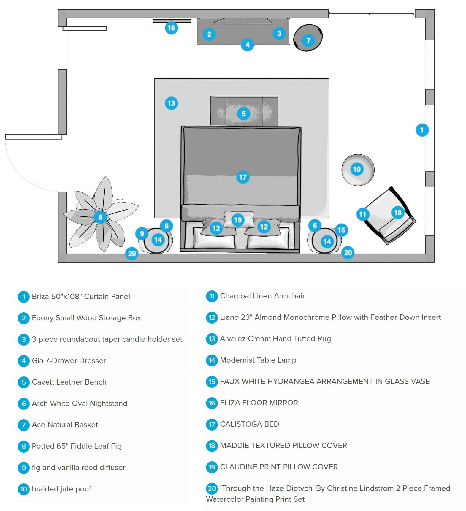 decorilla vs decorist comparison floor plan