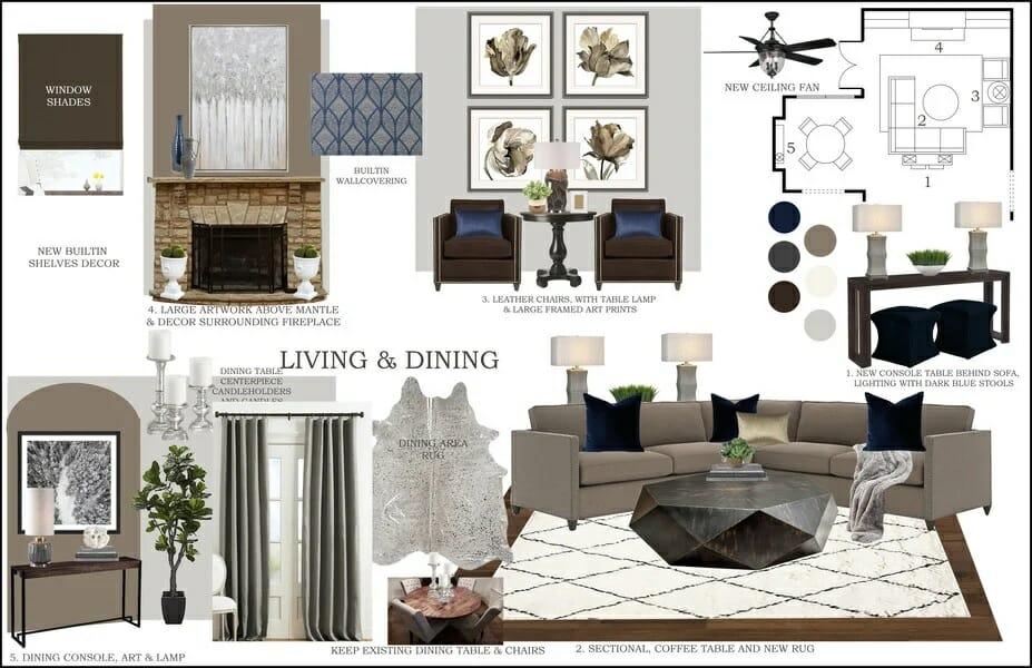 decorilla vs havenly comparison floor plan and color scheme 2