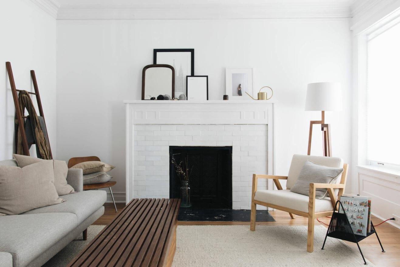 affordable inteiror design ideas scandinavian living room