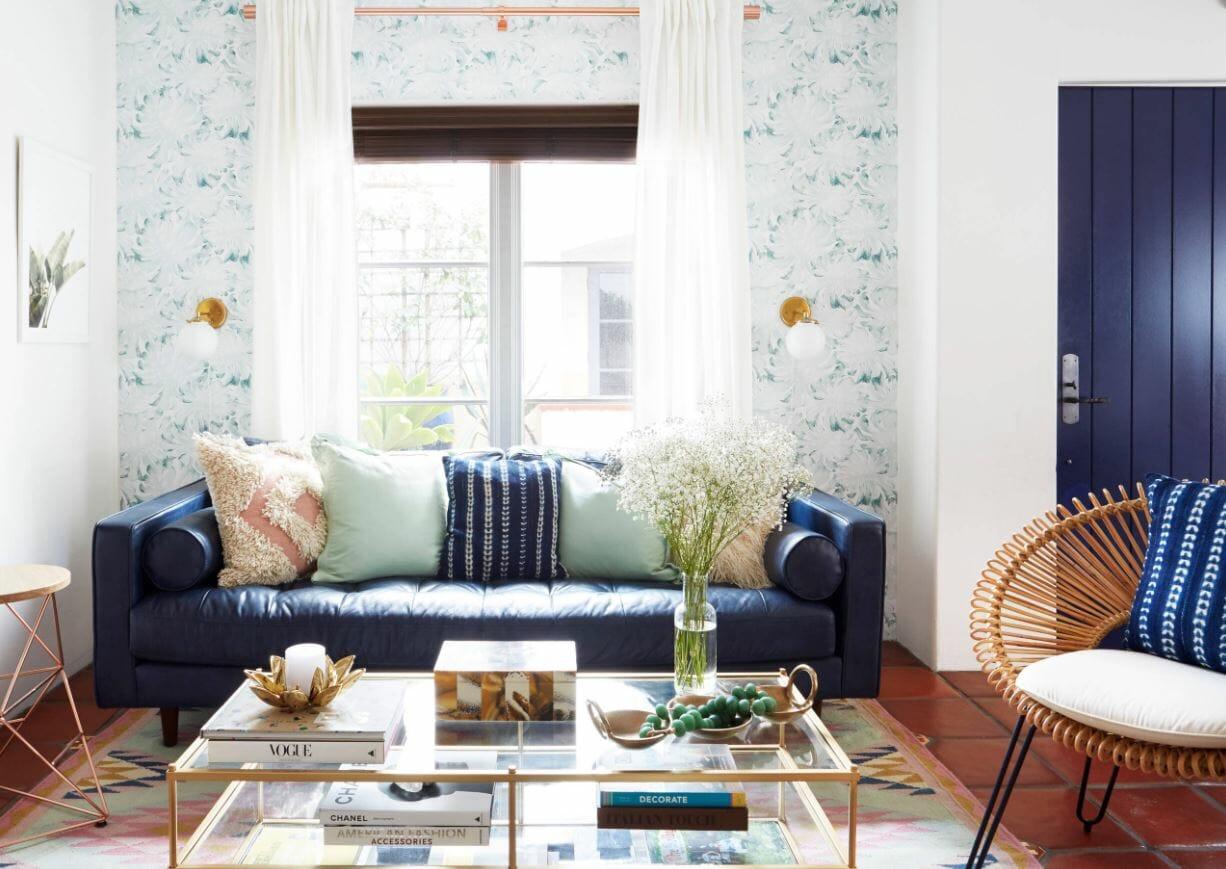 affordable interior design ideas wallpaper
